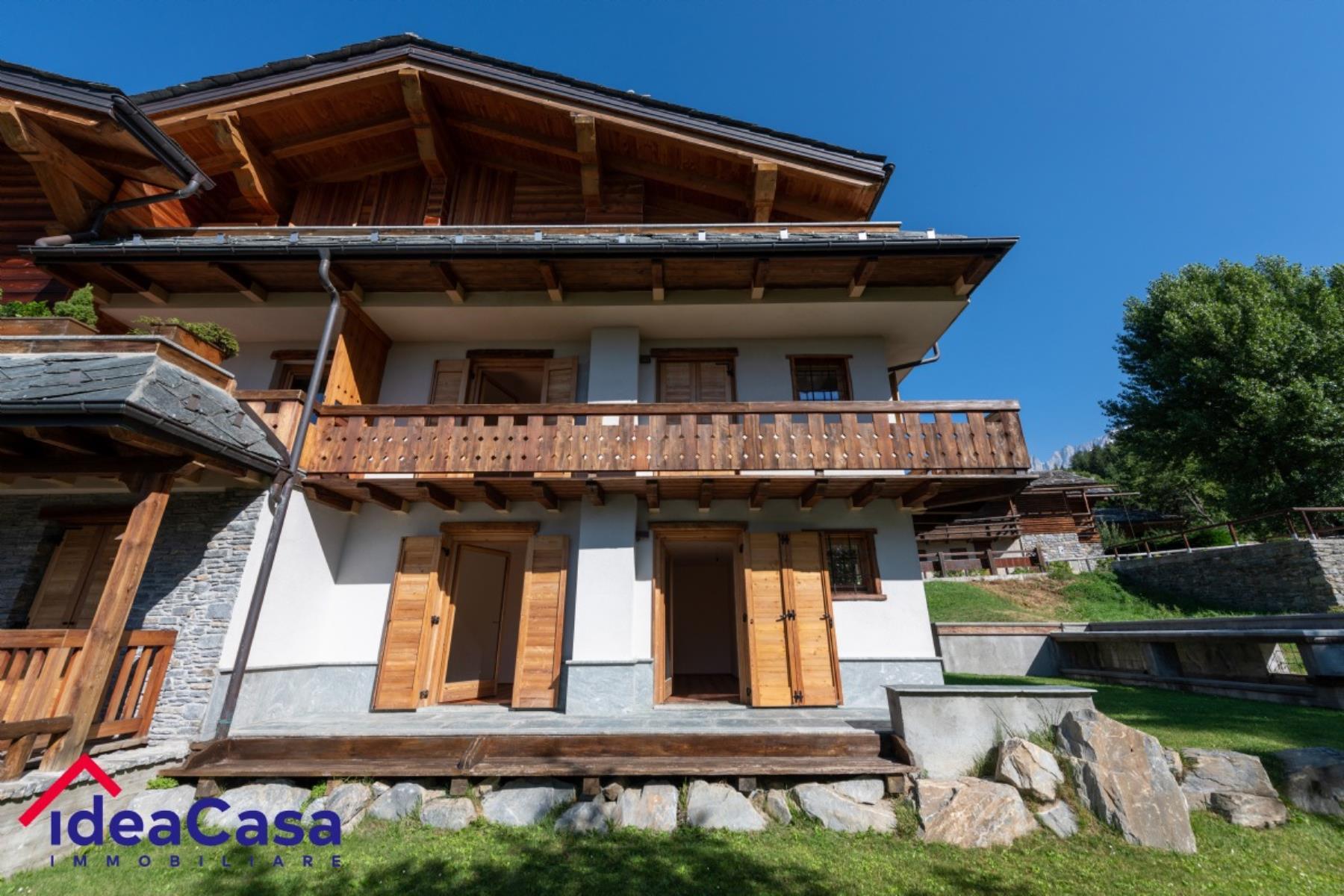 Vendita appartamento con giardino di 80 m2, Prè-Saint ...